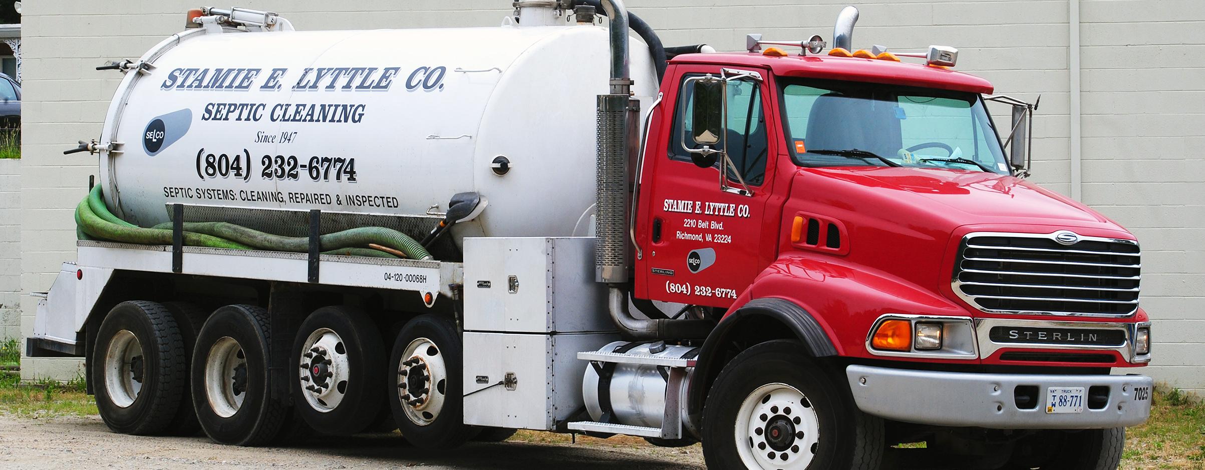 Liquid Pumper Truck