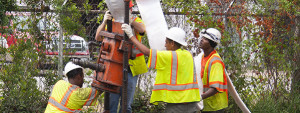 trenchless service technicians